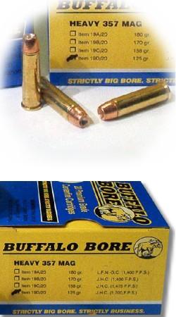 Heavy 357 Magnum Pistol & Handgun Ammunition