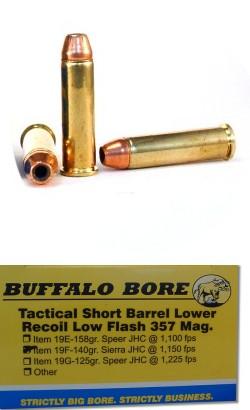 Tactical Short Barrel Lower Recoil Low Flash 357 Magnum Pistol