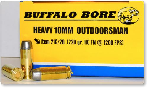 HEAVY 10MM OUTDOORSMAN Pistol & Handgun Ammunition