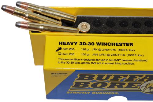 Heavy 30-30 Winchester Rifle Ammunition