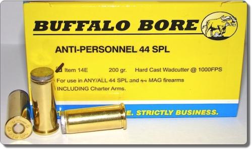 ANTI-PERSONNEL 44 Special Pistol & Handgun Ammunition