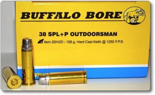 38 Special +P OUTDOORSMAN Pistol & Handgun Ammunition