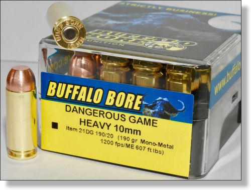 DANGEROUS GAME 10MM AUTO - Mono-Metal Pistol & Handgun