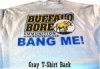 Bang Me Gray T-Shirt Medium