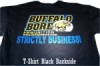 Strictly Business Black T-Shirt Small