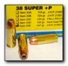 38 SUPER +P Pistol and Handgun Ammo