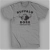 Medium-BuffaloBore Short Sleeve Crew-Heather Grey
