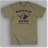 Large-Logo Short Sleeve Crew-Military Green
